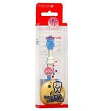 PIGEON Training Toothbrush L-1 [PR050508] - Light Blue - Sikat Gigi Bayi dan Anak
